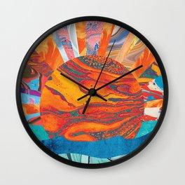 Sunrise, Sunset Wall Clock