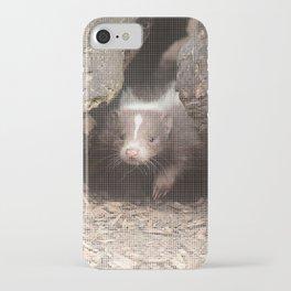 Halftone pixel fun SKUNK Baby iPhone Case
