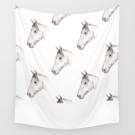 Horse 01 Wall Tapestry