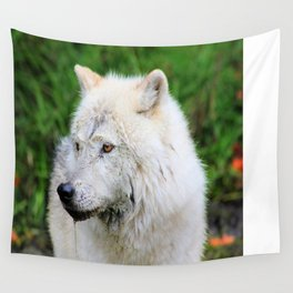 Looking Left Wall Tapestry