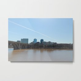 DC to VA Metal Print