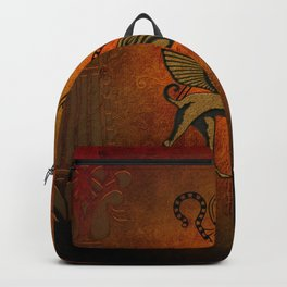 Egyptian sign Backpack