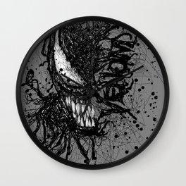 Venomistic Scribble Wall Clock