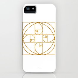 Golden Sprout iPhone Case