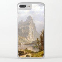 Albert Bierstadt Merced River, Yosemite Valley Clear iPhone Case
