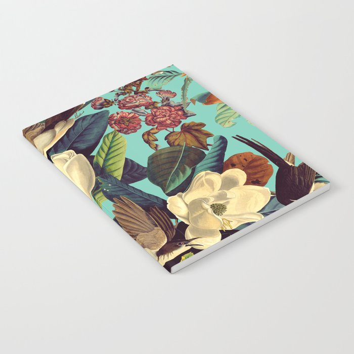 FLORAL AND BIRDS XXI Notebook