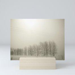 Winter 4 Mini Art Print