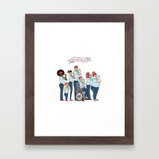 Intersectional Rosie the Riveter Framed Art Print