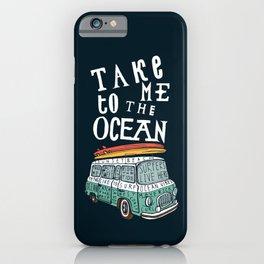 Surfer Van iPhone Case