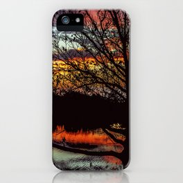 Halibut Point Sunset iPhone Case