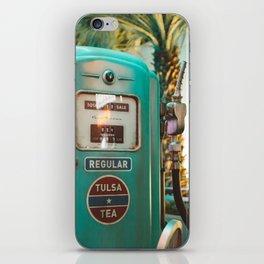 Vintage oil iPhone Skin