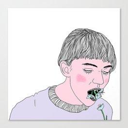 Face Dancer Canvas Print