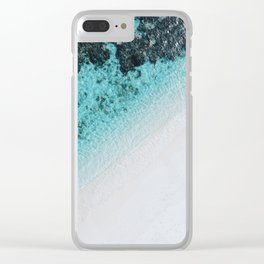 Sea 5 Clear iPhone Case