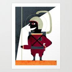 SPACEMAN Art Print