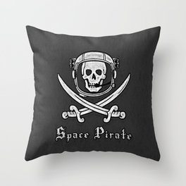 Space Pirate Throw Pillow