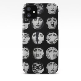 Fornasetti Faces iPhone Case