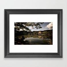 Kinkakuji/The Golden Pavilion II, Kyoto Framed Art Print
