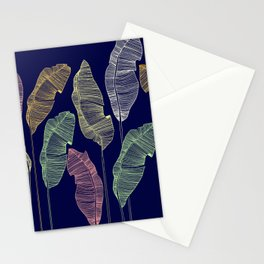 banano leaves Stationery Cards