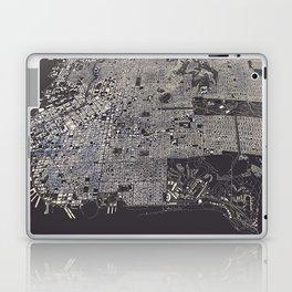 San Francisco City Map Laptop & iPad Skin