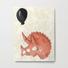 Celebrating an Old Fossil Metal Print