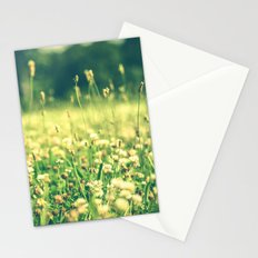 My Heart Was Wrapped in Clover (the night I looked at you) Stationery Cards