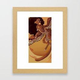 Sun Sphinx Framed Art Print