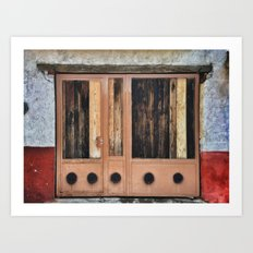 Eronga Door Art Print