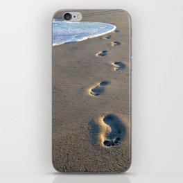 Wrightsville Beach Footprints iPhone Skin