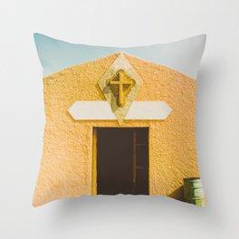 Desert Sin Throw Pillow