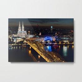 Cologne, Germany Metal Print
