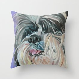Duffy the Dog Throw Pillow
