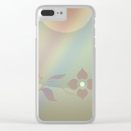 Copper blossom Clear iPhone Case