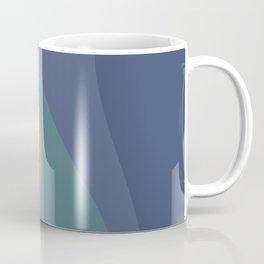 Abstract Color Waves - Vibrant Rainbow Coffee Mug