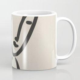 Apollinaire, Matisse, Rouveyre (Trois têtes. A l'amitié) Coffee Mug