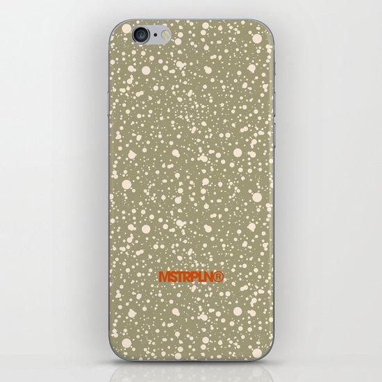 Trail Status / Beige iPhone & iPod Skin