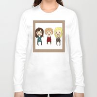 kili Long Sleeve T-shirts featuring kili cry by Selis Starlight