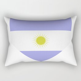 Argentine flag Rectangular Pillow