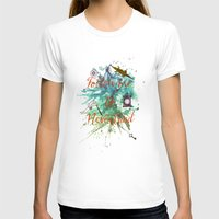 neverland T-shirts featuring Follow me to Neverland by Sybille Sterk