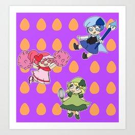 Shugo Chara Art Print