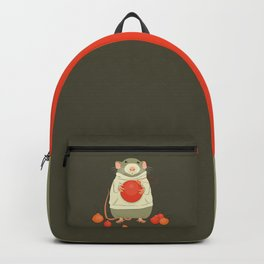 Mouse with a Christmas ball II Backpack