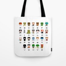 Star Wars Alphabet Tote Bag