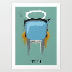 The Robot Art Print