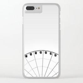 1/2 Ferris Wheel Clear iPhone Case