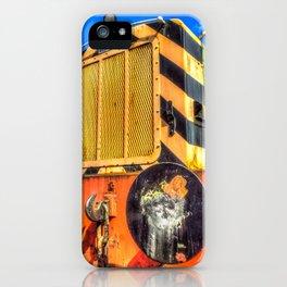 Ruston Diesel Engine iPhone Case