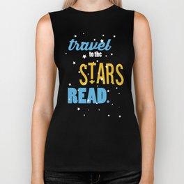 Stars - Just Read Biker Tank