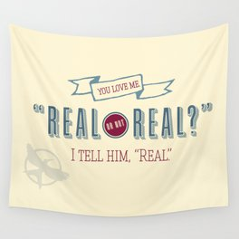 Real or Not Real? Wall Tapestry