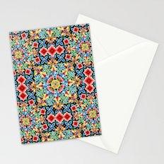 Cosmic Ombre Mandala Stationery Cards