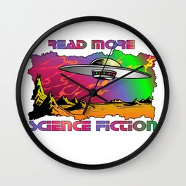 Read More Science Fiction Wall Clock