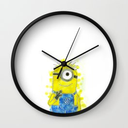 Despicable Me Minion Wall Clock