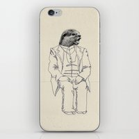 otter iPhone & iPod Skins featuring Otter by Federica Fragapane